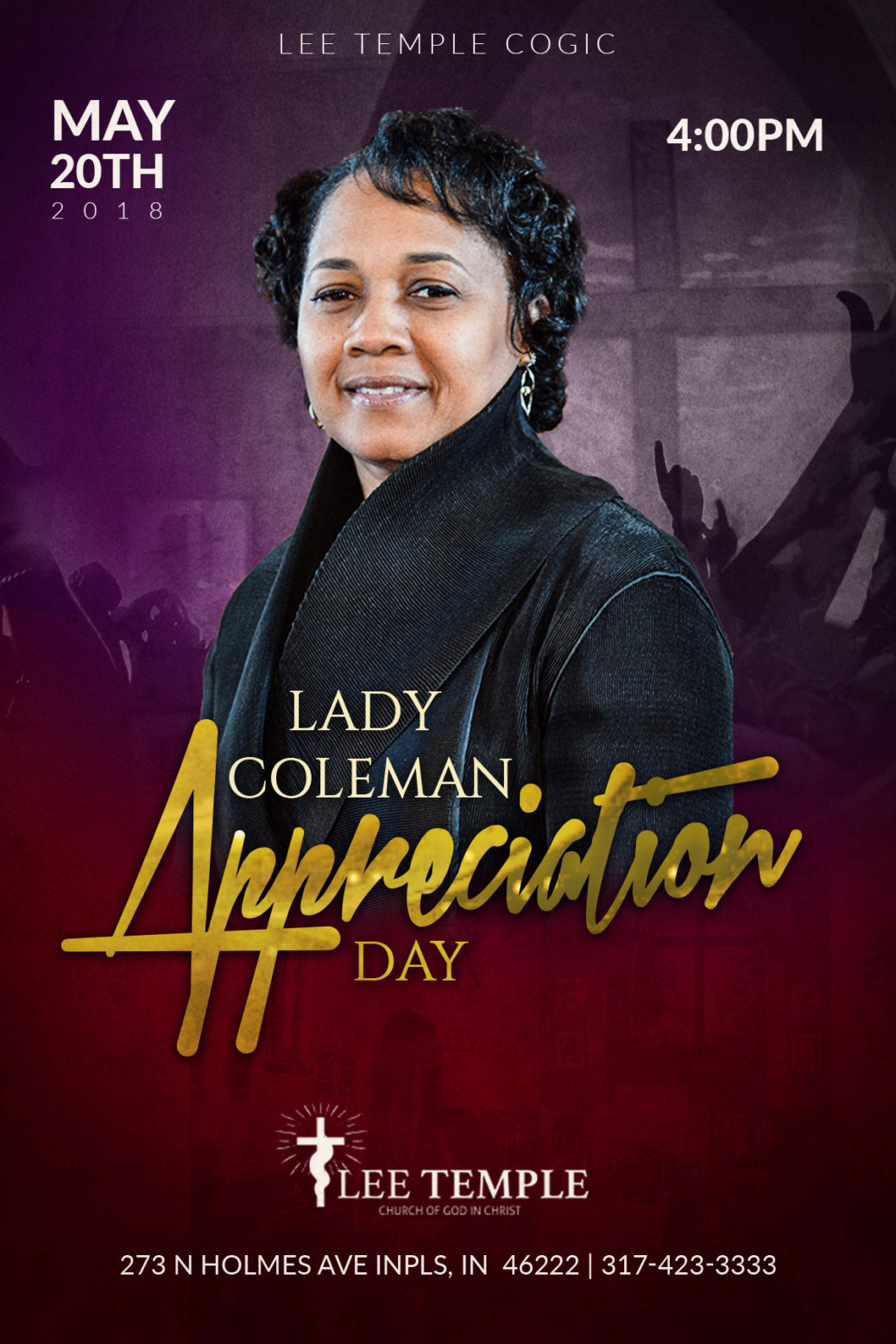 First Annual First Lady Appreciation Service – Lee Temple COGIC