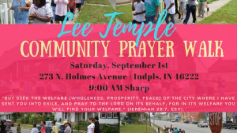 Annual Prayer Walk