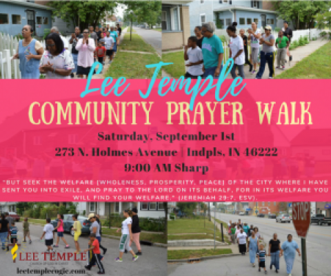 Annual Prayer Walk