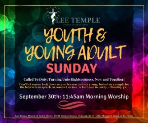 Youth and Young Adult Sunday