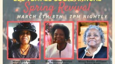 2019 Spring Revival