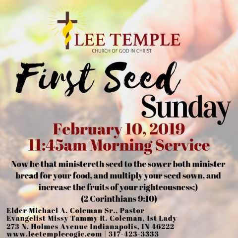 890673868217 Lee Temple COGIC – Church Of God In Christ