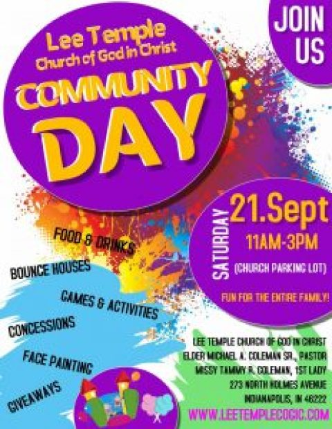 2nd Annual Community Day