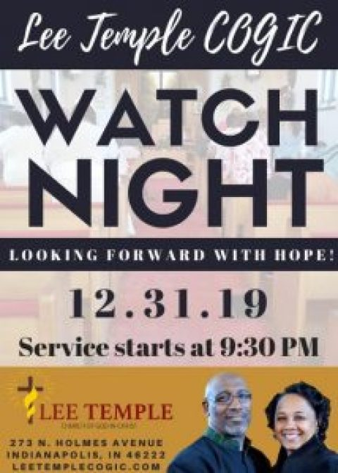 Our Watch Night Service!