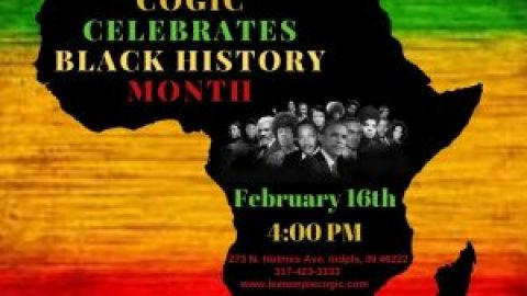 Save the Date! Black History Program