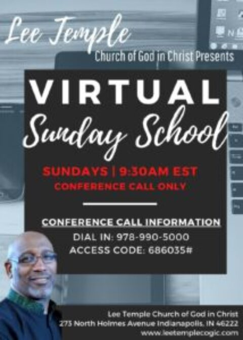Sunday School Conference Call