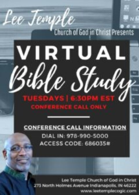 Bible Study Conference Call